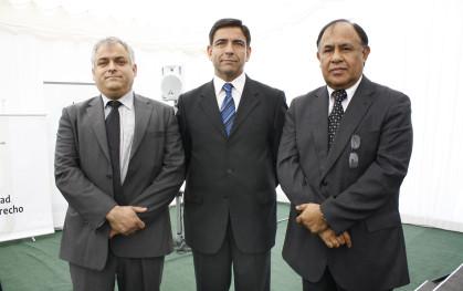 Eduardo Darritchon, Jorge Ogalde y Diego Simpertigue