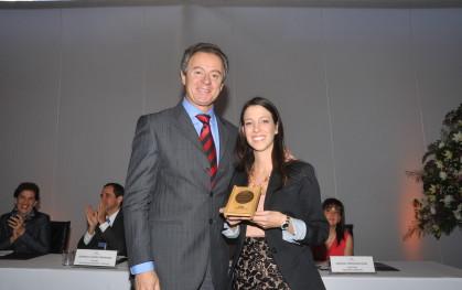 Federico Valdés junto a Daniella Boanova