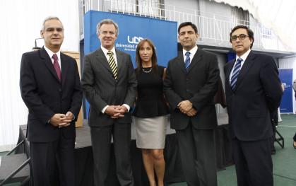 Gonzalo Rioseco, Federico Valdés, Barbara Ivanschitz, Jorge Ogalde y Marcelo Sandoval