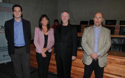 Felipe Jara, Carolina Mardones, Raúl Rivera, Patricio Polizzi