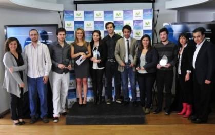 Los premiados en ETECOM 2012