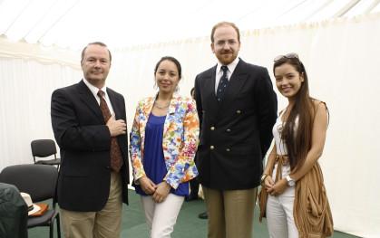 Mario Bugmann, Carolina Morales, Cristián Fernández y Carolina Silva