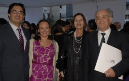Patricio Radic, Claudia Ortega, Marianne Stein y Enrique López