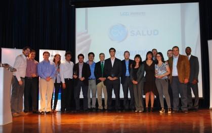 Premiacion StartUp Salud