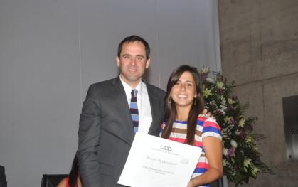 Rodrigo Castro y Bernardita Gepp