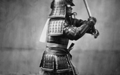 Samurai con espada (Nicolás Franco)