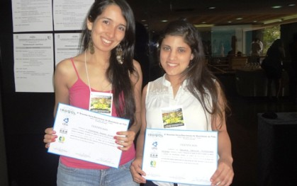 Daniela Victoriano y Constanza Alvear