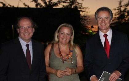 Pablo Vial, Liliana Jadue y Federico Valdés