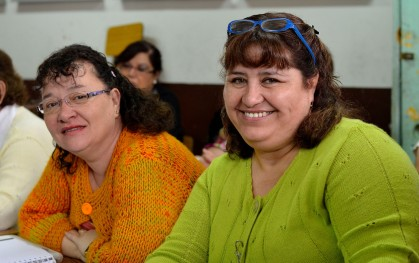 Profesoras participantes de la Escuela de Verano