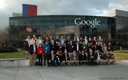 El grupo UDD en las oficinas de Google