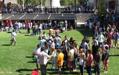 Alumnos nuevos en campus RESB