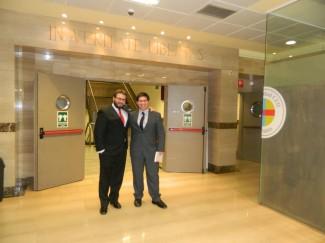 Javier Porras y Renzo Munita en España