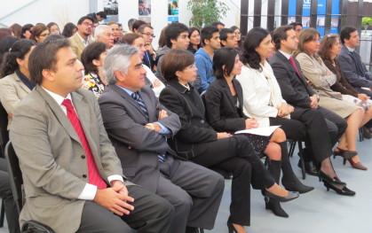 Durante la inauguración