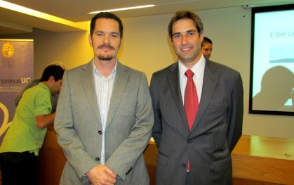 Felipe Jara y Daniel Contesse