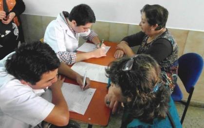 Intervención de los alumnos