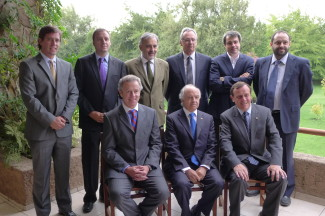 Autoridades en El Mercurio