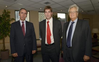 Ricardo Newes, Daniel Contesse y Patricio Balmaceda