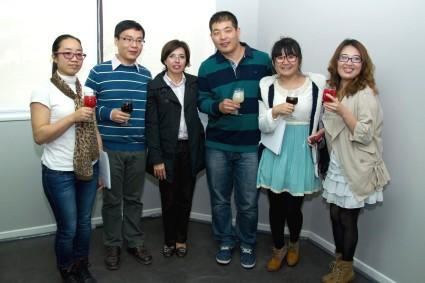 Alumnos chinos se gradúan del Programa en Español y Cultura Chilena
