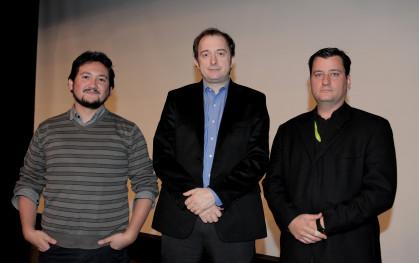 Alex Torres, Ivan Poduje y Pablo Allard