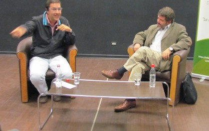 Alvaro Pacull y Armando Roa