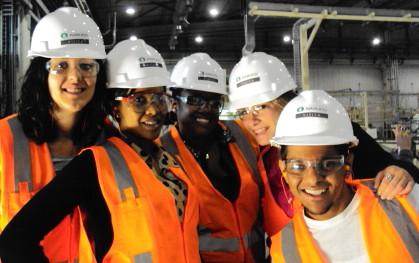 Visita de la Universidad de Cincinnati