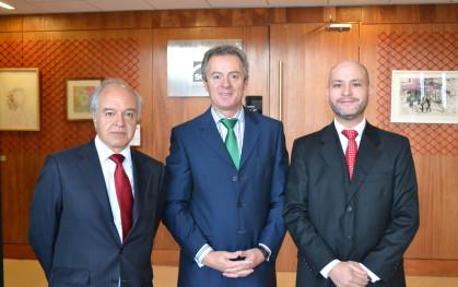 Hernán Cheyre, Federico Valdés y José Ernesto Amorós