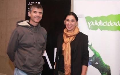 Sergio Gamboa e Isabel Calderón