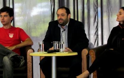 Carlos Varela, de la Vicerrectoría de Innovación y Desarrollo