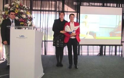 Jimena Díaz y coordinadora de la Escuela