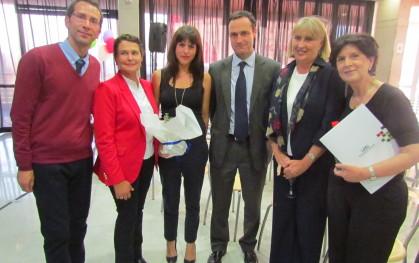 Juan Carlos Gacitúa, Jimena Díaz, Trinidad Ríos, Juan Eduardo Vargas, Pilar Mery y Gloria Carranza