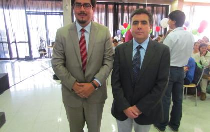 Víctor Berríos y Daniel Jiménez