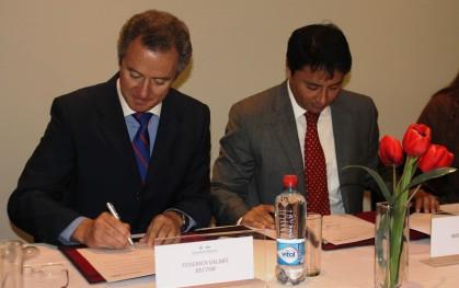 Federico Valdés y Rodolfo Carter