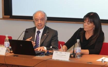 Hernán Cheyre y Carolina Mardones