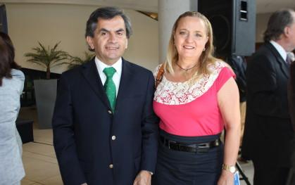 Sergio Hernández y Liliana Jadue