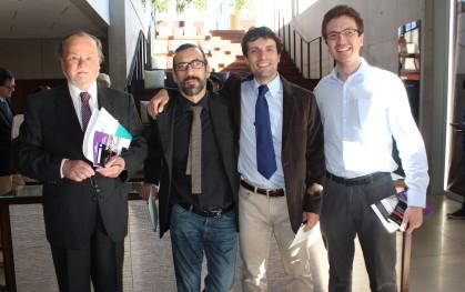 Jorge Urzúa, Carlos Rodríguez, Ricardo Guzmán y Miguel Angel Labarca