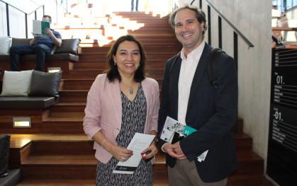 Nancy Pérez y Alberto Lecaros