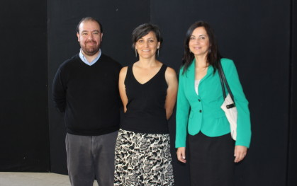 Manuel Najera, Ximena Aguilera y Katherine Marín