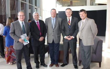 Pablo Vial, Marcelo Magofke, Rolf Kühlenthal, Federico Valdés y Gerardo Köster