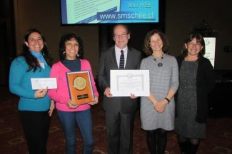 Isabel Abarzúa, Analía Cuiza, Pablo Vial, Francisca Valdivieso y Marcela Ferrés.
