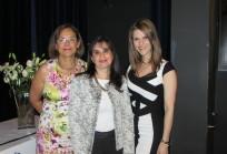 Ana María Madrid, Claudia Defilippi, Rinat Ratner
