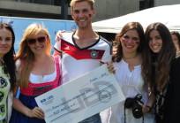 Alemania fue el stand ganador en Santiago
