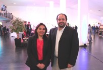 Nancy Pérez y Carlos Varela