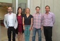 Carlos Rodríguez-Sickert, Isabel Behncke, Katarzyna Nowak, Ricardo Guzmán y Beau Lotto