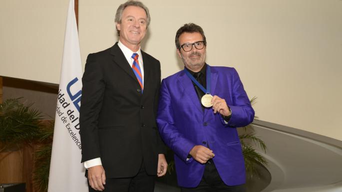 Federico Valdés y Xavier Sala i Martin
