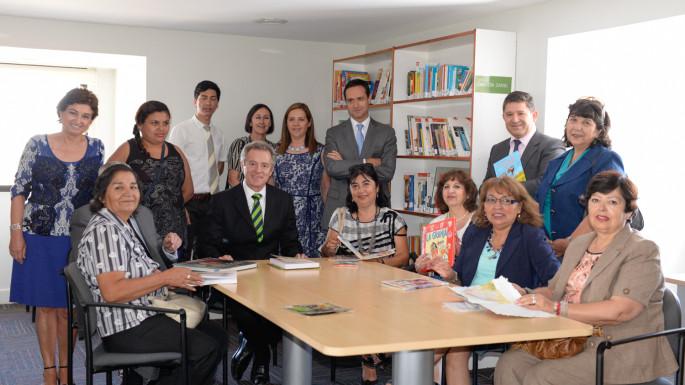 Autoridades UDD junto a directores de colegios de Renca