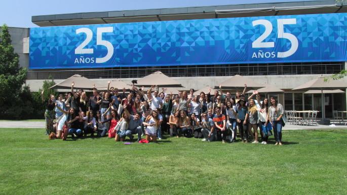 Bienvenida alumnos internacionales