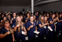 Ceremonia de la Luz - Titulación Enfermería 2015