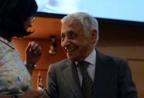 Dra. Carmen Astete junto al Dr. Juan Pablo Beca