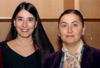 Alejandra Amenábar y Bernardita Bráncoli