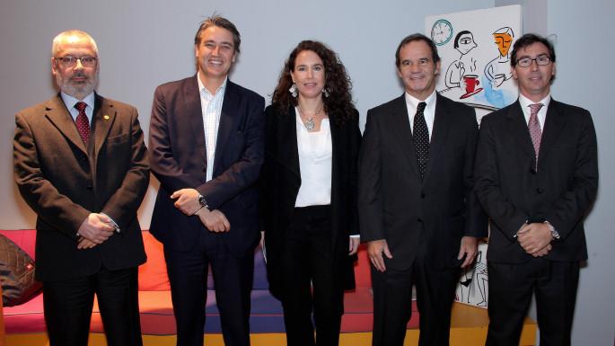 Jaime Veas, Fulvio Rossi, Francisca Dusaillant, Andrés Allamand, Raúl Figueroa